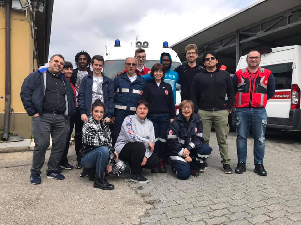 Dieci futuri Operatori Servizio in Emergenza